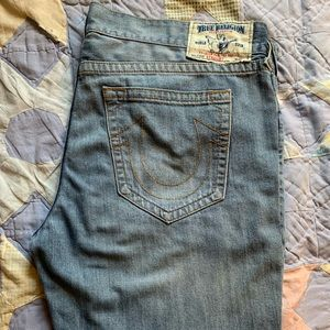 True Religion 44W blue jeans